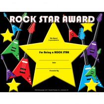 FLPRS001 - Rock Star Certificate in Certificates