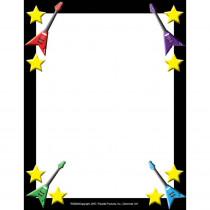 FLPRS002 - Rock Star Border Paper in Design Paper/computer Paper