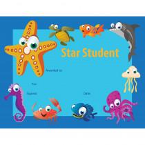FLPUS200 - Star Student Certificate 30 Pk Under The Sea in Certificates