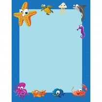 FLPUS300 - Under The Sea Border Paper 50 Pk in Loose Leaf Paper
