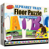 FS-0769658229 - Alphabet Train Puzzle Ages 3-6 in Floor Puzzles