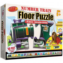 FS-0769658245 - Number Train Puzzle Ages 3-6 in Floor Puzzles