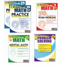 FS-704178 - Singapore Math Bundle Gr 3 in Activity Books