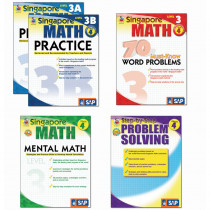 FS-704179 - Singapore Math Bundle Gr 4 in Activity Books