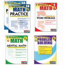 FS-704181 - Singapore Math Bundle Gr 6 in Activity Books