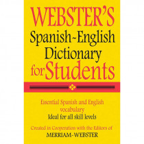 FSP9781596950962 - Websters Spanish English Dictionary For Students in Spanish Dictionary