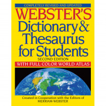FSP9781596951075 - Websters Dictionary & Thesaurus For Students Second Edition in Reference Books