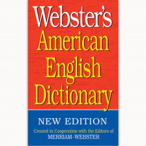 FSP9781596951143 - Websters American English Dictionary in Reference Books