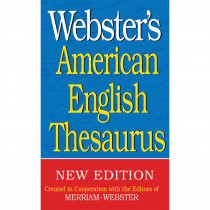 FSP9781596951150 - Websters American English Thesaurus in Reference Books