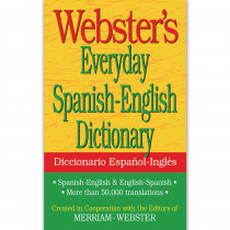 FSP9781596951174 - Websters Everyday Spanish English Dictionary in Spanish Dictionary