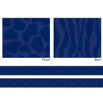 FST3156 - Sassy Animal Navy Double Sided Border in Border/trimmer