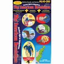 GAL0635063778 - American Revolution All-In-One Bulletin Board Set in Social Studies