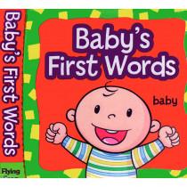 GAR9781607459132 - Babys First Words Cloth Book in Language Arts