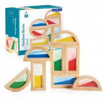GD-3014 - Rainbow Blocks Sand in Blocks & Construction Play