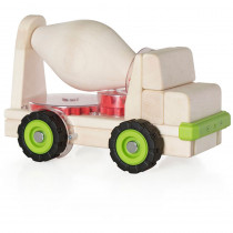 GD-7530 - Block Science Trucks Cement Mixer Big Block in Vehicles