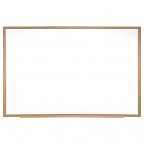 GH-M2W181 - Melamine Markerboard 18X24 W/ Wood Frame in White Boards