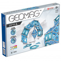 GMW025 - Geomag Pro L - 174 Pieces in Blocks & Construction Play