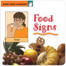 GP-109 - Early Sign Language Food Signs Board Book in Sign Language