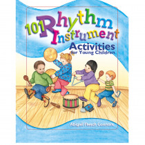 GR-15445 - 101 Rhythm Instrument Activities For Young Children in Activity/resource Books