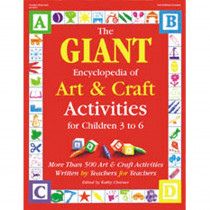 GR-16854 - The Giant Encyclopedia Art & Craft Ages 3-6 in Art Activity Books