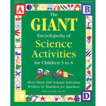 GR-18325 - The Giant Encyclopedia Science Ages 3-6 in Activity Books & Kits
