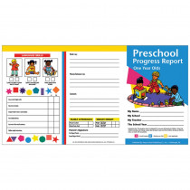 H-PRC09 - Preschool Progress Reports 10Pk For 1 Year Olds in Progress Notices
