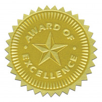 H-VA373 - Gold Foil Embossed Seals Award Of Excellence in Awards
