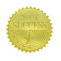 H-VA376 - Gold Foil Embossed Seals Seal Of Success in Awards