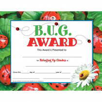H-VA591 - Bug Award 30 Set in Certificates