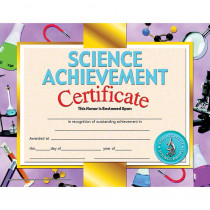 H-VA671 - Science Achievement 30/Pk 8.5 X 11 Certificate Inkjet Laser in Science