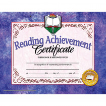 H-VA677 - Reading Achievement 30Pk 8.5 X 11 Certificates Inkjet Laser in Language Arts
