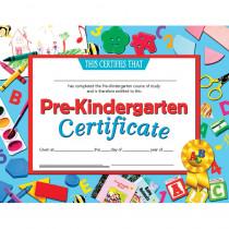 H-VA699 - Certificates Pre-Kindergarten 30 Pk 8.5 X 11 Inkjet Laser in Certificates