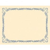 H-VA911 - Arabesque Border Paper Blue in Design Paper/computer Paper