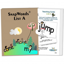 HB-SWA1 - Snapwords Teaching Cards List A in General