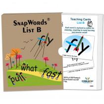 HB-SWB1 - Snapwords Teaching Cards List B in General