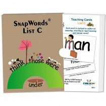 HB-SWC1 - Snapwords Teaching Cards List C in General