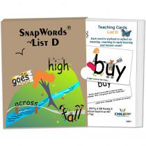 HB-SWD1 - Snapwords Teaching Cards List D in General