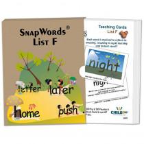 HB-SWF1 - Snapwords Teaching Cards List F in General