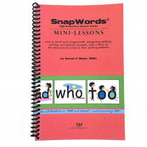 HB-SWML - Snapwords Mini-Lessons in General