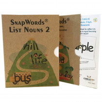 HB-SWN21 - Snapwords Teaching Cards List N2 in General