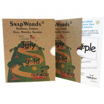 HB-SWNCDMS1 - Teaching Cards Numbers Colors Days Months Seasons Snapwords in General