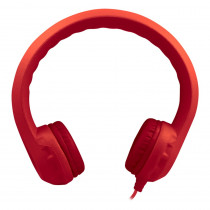 HECKIDSRED - Flex-Phones Indestructible Red Foam Headphones in General