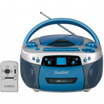 HECMPC5050PLUS - Boom Box Usb Port Cd Mp3 Player Cassette Recorder Am Fm Radio in Listening Devices