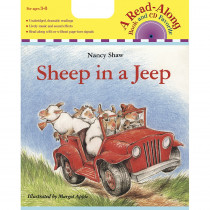HO-0618695222 - Carry Along Book & Cd Sheep In A Jeep in Books W/cd