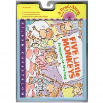 HO-0618732764 - Carry Along Book & Cd Five Little Monkeys Jumping in Books W/cd