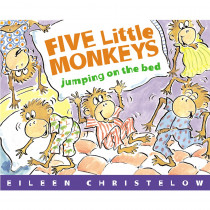 HO-0618836829 - Five Little Monkeys Jumping On The Bed Big Book in Big Books