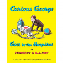 HO-395070627 - Curious George Goes To The Hospital Paperback Book in Classics