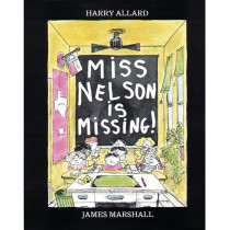 HO-395401461 - Miss Nelson Is Missing Book in Classroom Favorites