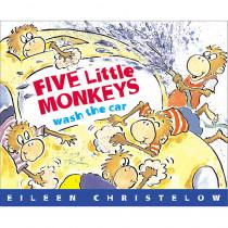 HO-61848602X - Five Little Monkeys Wash The Car in Classroom Favorites