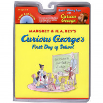 HO-618605657 - Curious Georges First Day Of School Book & Cd in Books W/cd